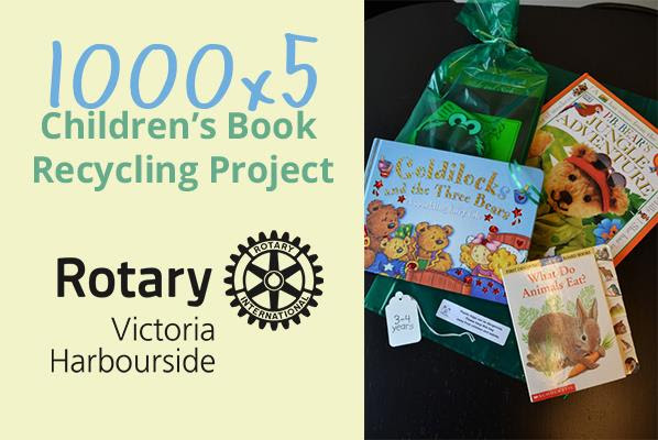 Donation From Rotary Club Of Victoria Harbourside